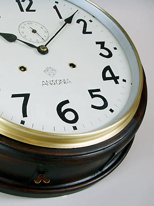 American Ansonia Striking Dial Wall Clock To Buy Perth Wa