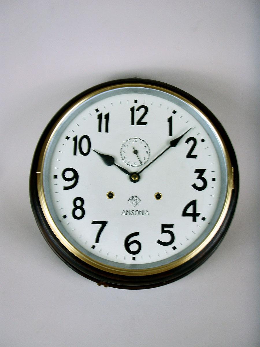 American Ansonia Striking Dial Wall Clock To Buy Perth WA