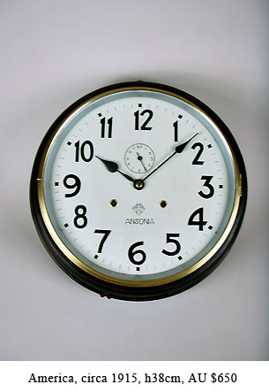 antique dial wall clocks for sale in perth western australia