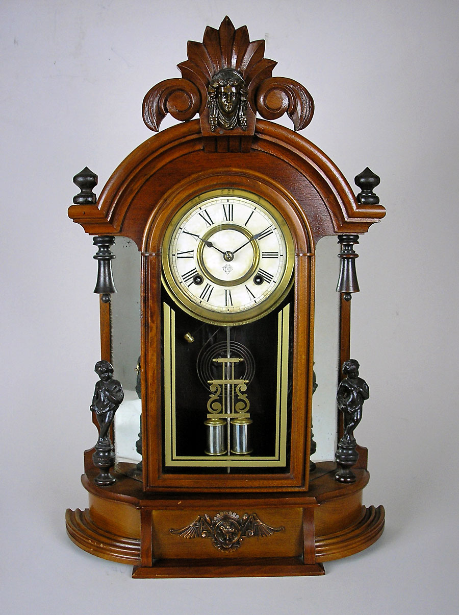 Ansonia Walnut Mantel Clock From America For Sale Perth Wa