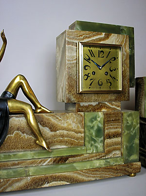 art deco clock sets in perth