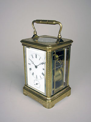 drocourt carriage clock for sale