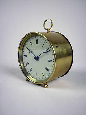 small french drum clock