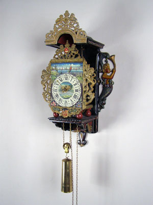 Dutch Zaanse Wall Clock For Sale In Perth Western Australia