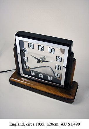 electric mystery clock