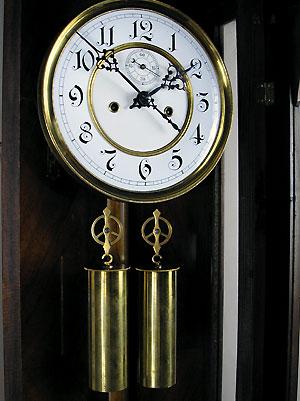Antique German Regulator Vienna Clock H Endler Perth Wa