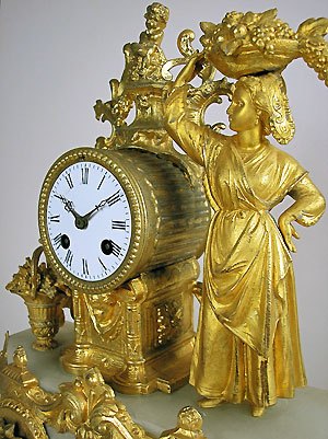 antique mantle clock for sale