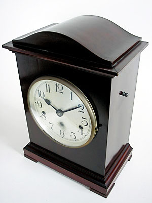 German Mahogany Chiming Bracket Clock For Sale In Perth Wa