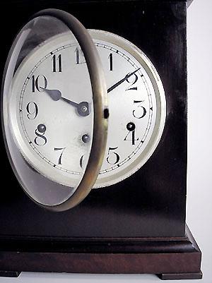 German Mahogany Chiming Bracket Clock For Sale In Perth Wa