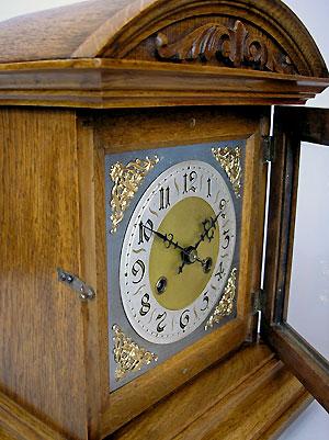 German Oak Bracket Clock For Sale In Perth Australia