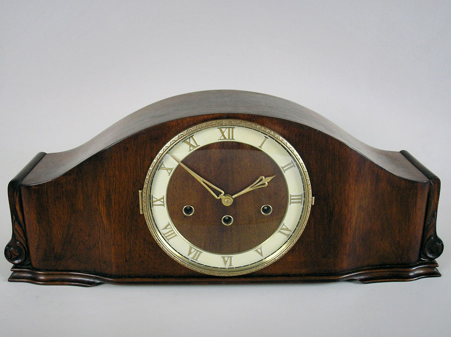 German mahogany mantel clock to buy in Perth, Australia