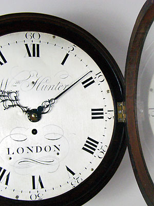 William Hunter Wall Dial Clock For Sale In Perth Australia