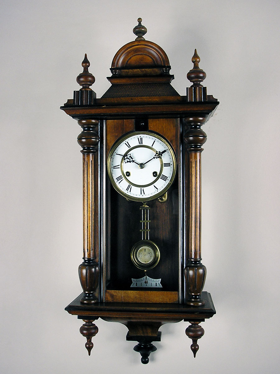 Small Antique German Vienna Regulator Clock Perth Wa