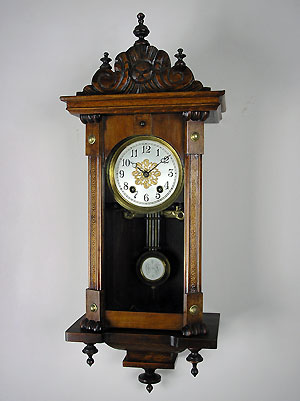 miniature lenzkirch regulator clock