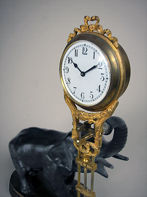 elephant clock for sale