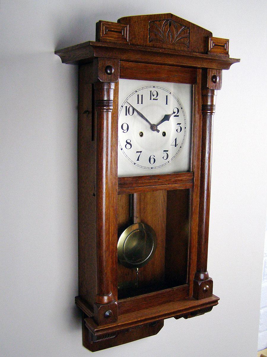 oak wall clock for sale in perth western australia