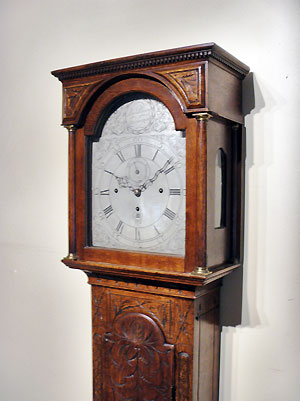 quarter longcase clock