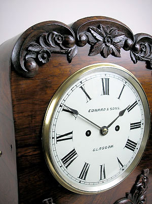 scottish bracket clock for sale