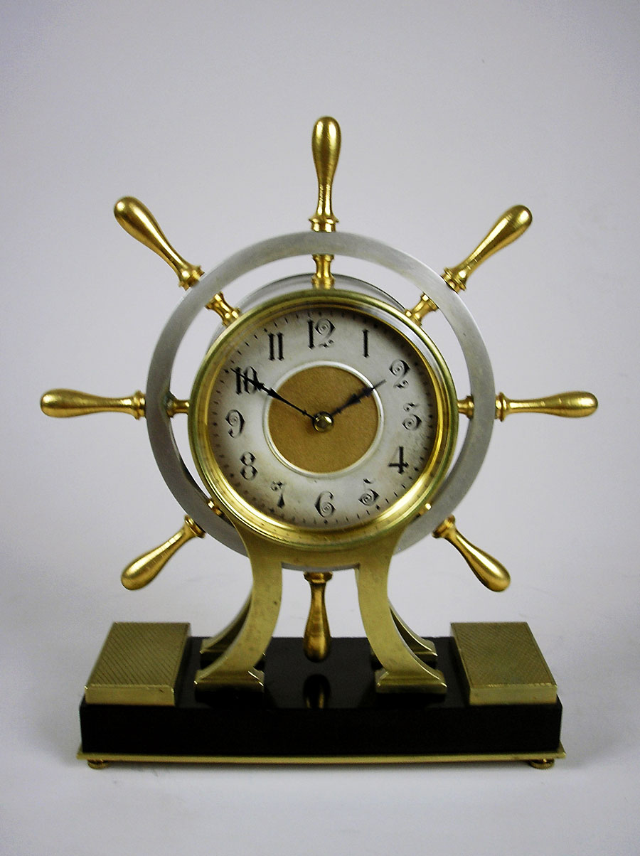 Rare Antique Ship S Wheel Clock For Sale In Perth Australia