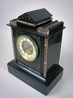 buy french slate mantle clock