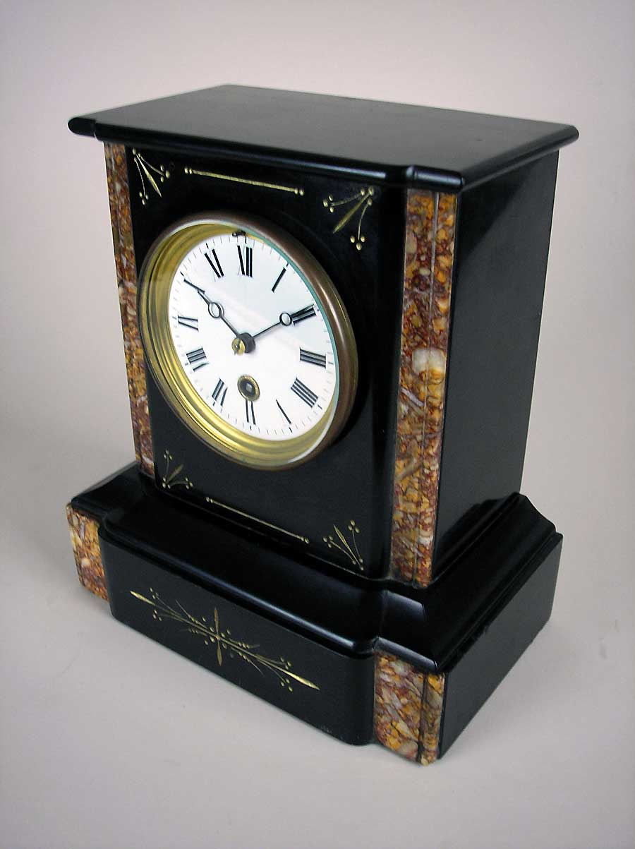 Small French Mantel Clock In Marble For Sale Perth Wa