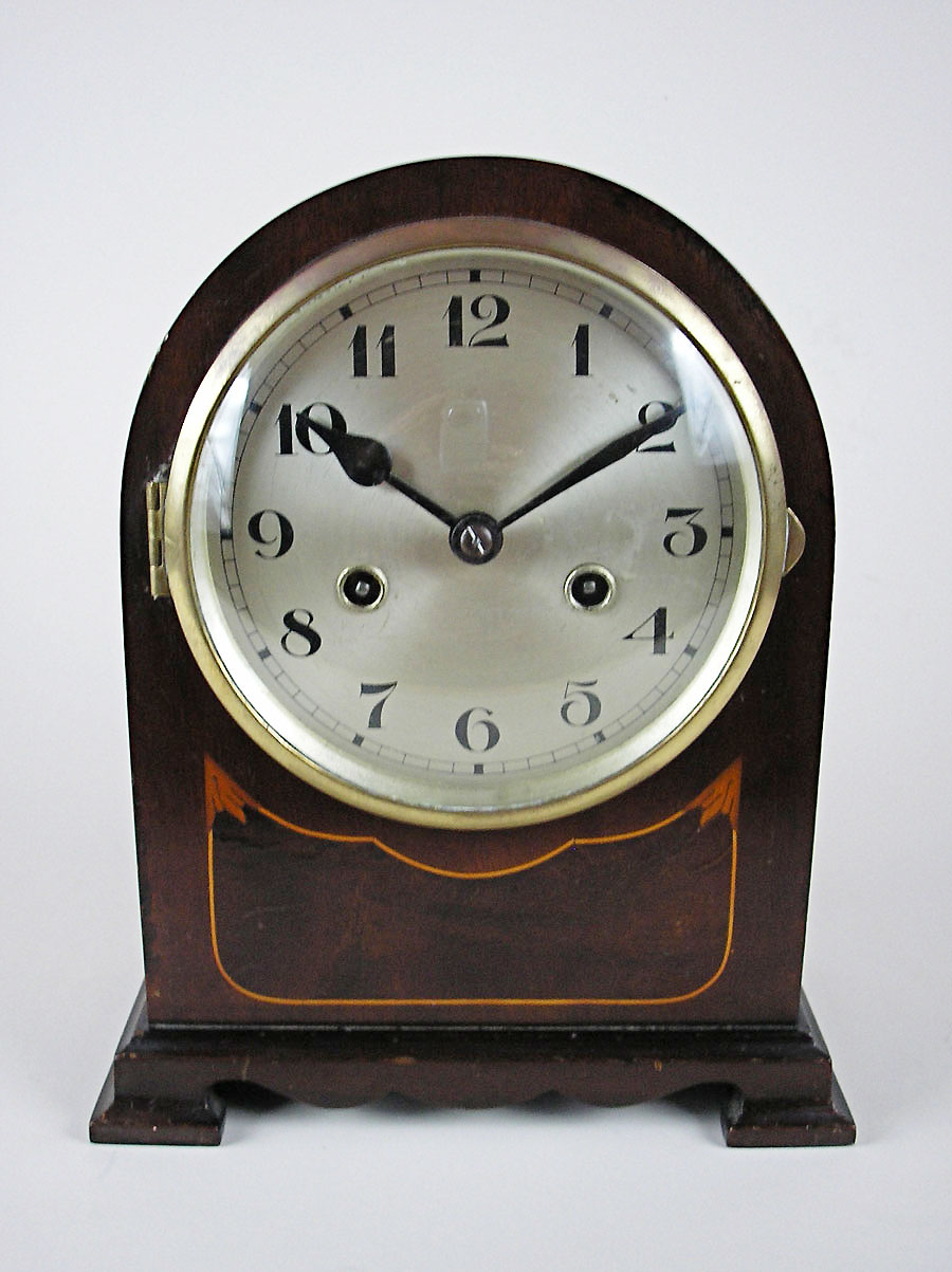 Small Mahogany Junghans Bracket Clock For Sale In Perth Wa