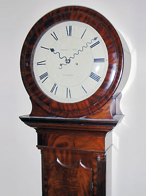 Antique English Tavern Dial Wall Clock For Sale In Perth Wa